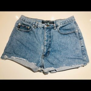 VINTAGE early 90's Guess high waisted Jean shorts